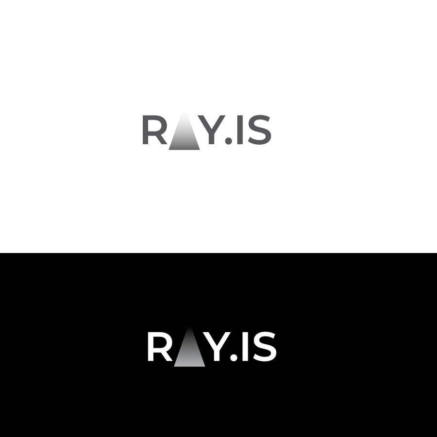 Konkurrenceindlæg #1034 for Create logo for RAY.IS