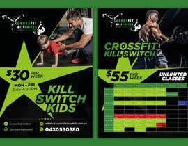 Nro 11 kilpailuun build me a advertising sticker for a gym window käyttäjältä rahulsakat99
