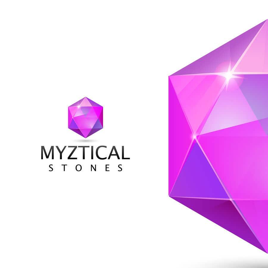 "Intrarea #79 pentru concursul ""I need a logo designed for a crystal energy healing website"""