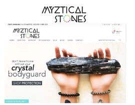 #65 untuk I need a logo designed for a crystal energy healing website oleh segiag