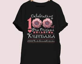 #79 for Design T-shirt for PrwOrigami 100th Kusudama by digitaldwar