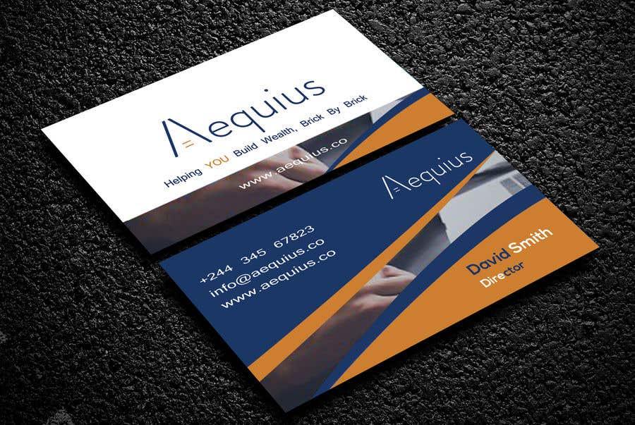 Penyertaan Peraduan #567 untuk Business Card Design