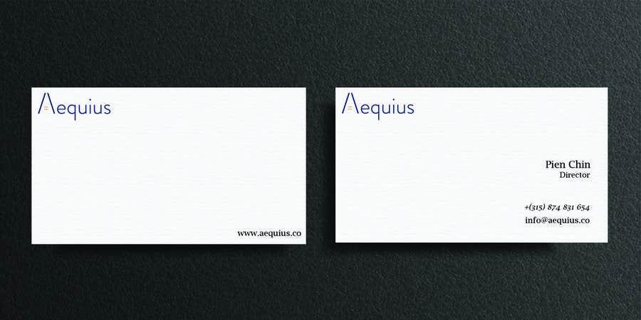 Penyertaan Peraduan #618 untuk Business Card Design