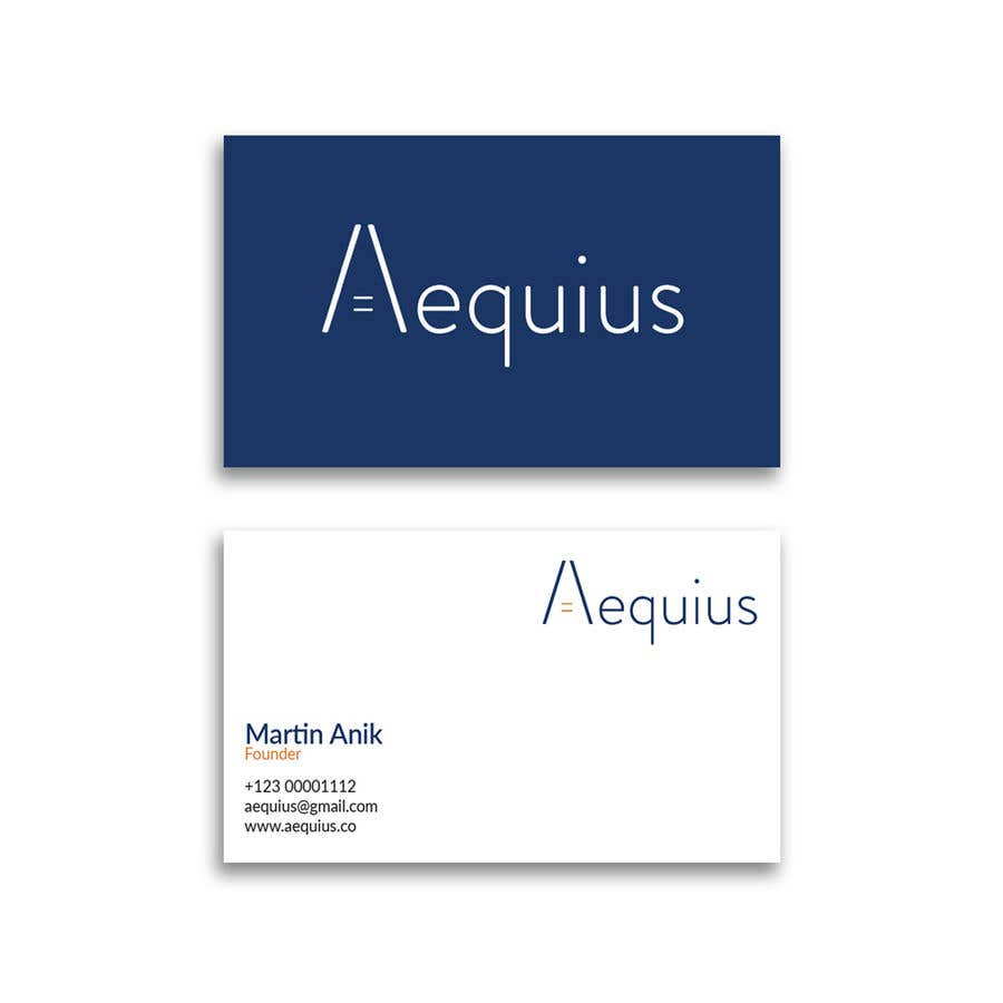 Penyertaan Peraduan #621 untuk Business Card Design