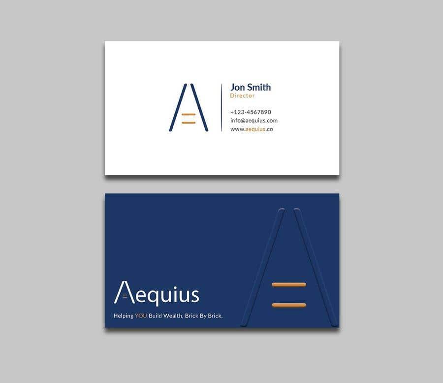 Penyertaan Peraduan #571 untuk Business Card Design