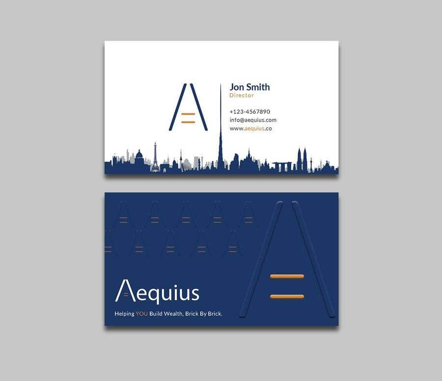Penyertaan Peraduan #577 untuk Business Card Design