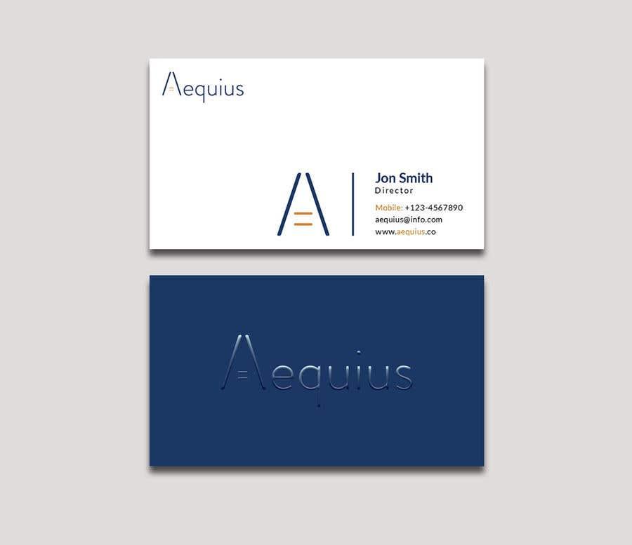 Penyertaan Peraduan #593 untuk Business Card Design