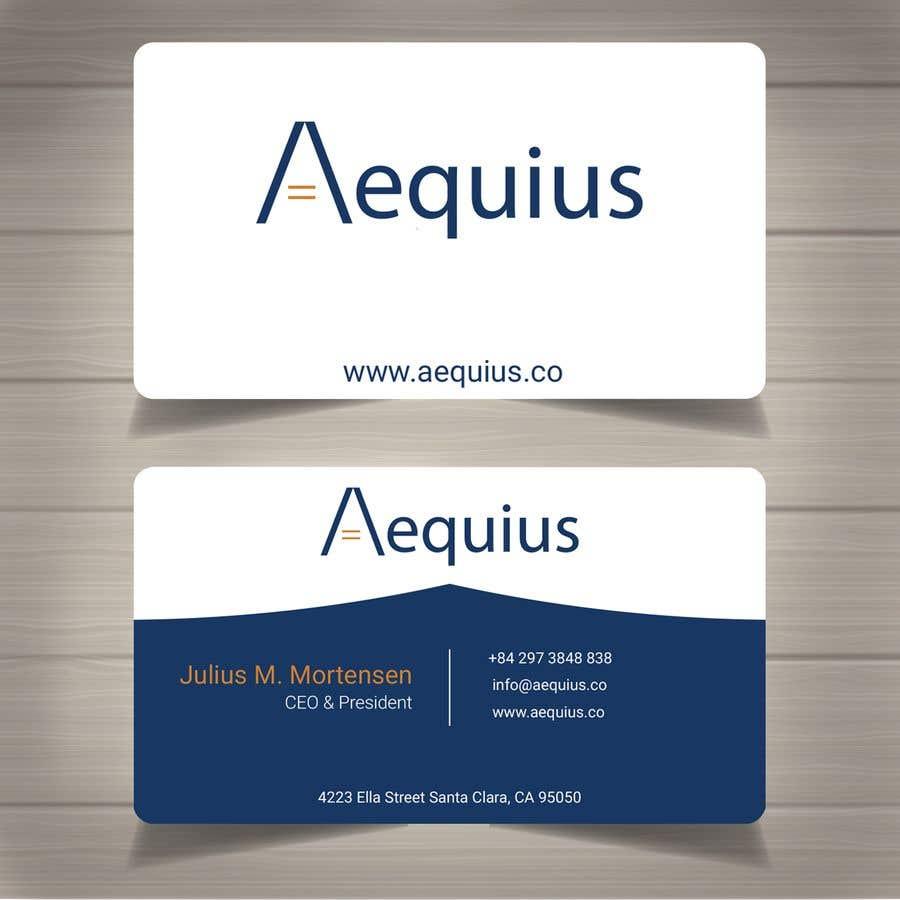 Penyertaan Peraduan #752 untuk Business Card Design