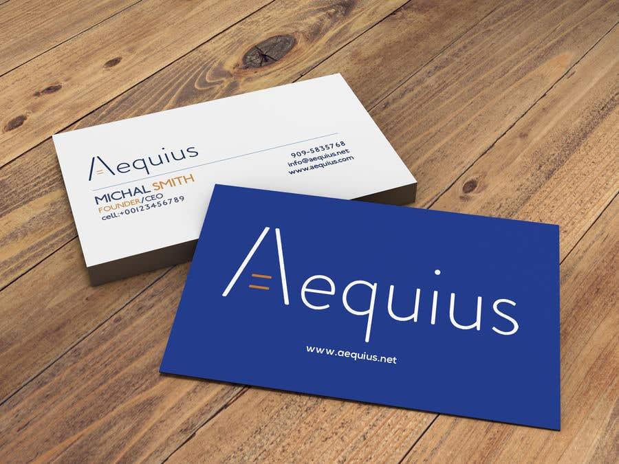 Penyertaan Peraduan #750 untuk Business Card Design