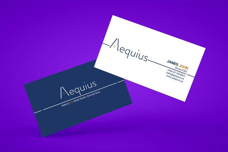 Penyertaan Peraduan #749 untuk Business Card Design