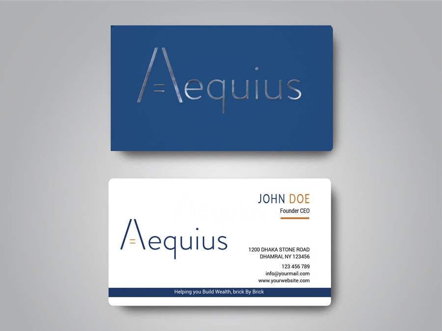 Penyertaan Peraduan #507 untuk Business Card Design