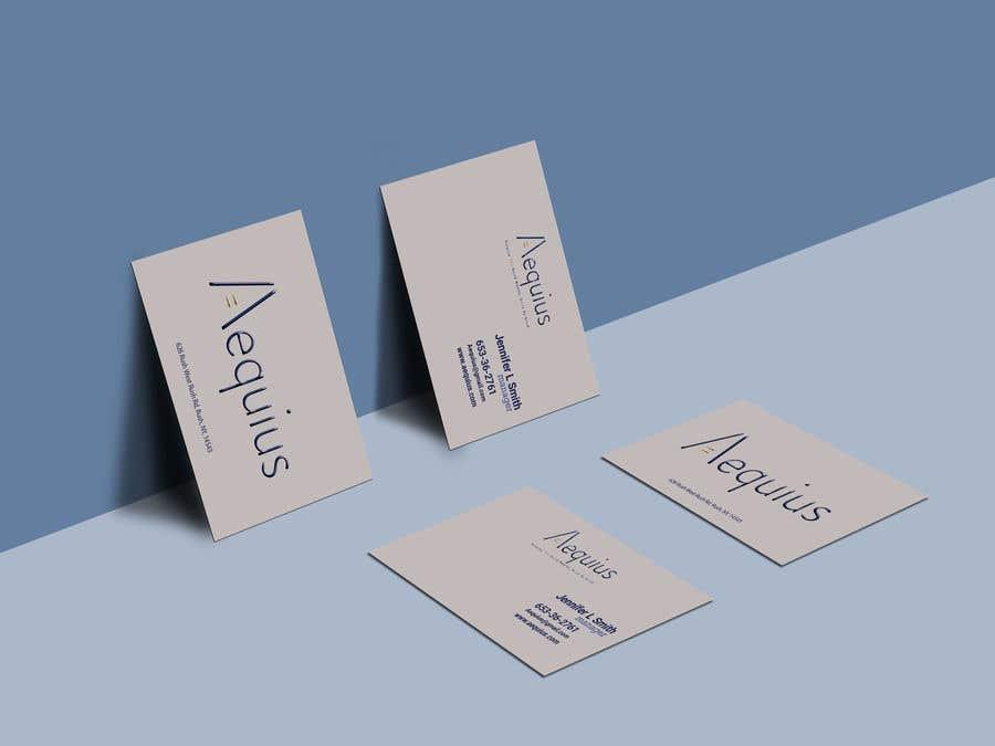 Penyertaan Peraduan #654 untuk Business Card Design