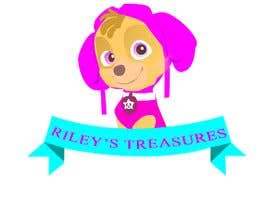#2 for My daughter has started a hobby/business selling second hand goods. The name of the business is RILEY'S TREASURES. Attached pics show her favourite colours from a tv cartoon she likes. by gimhananadeeshan