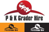 Entry # 7 for Logo Design for P & K Grader Hire by