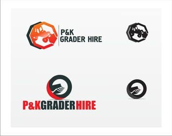 #6 for Logo Design for P & K Grader Hire by Crussader