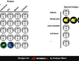 #12 для Design gamification badges for a website от KudzayiM