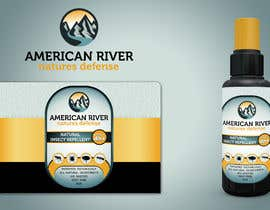 #7 для American River - Natures Defense - Insect Repellent Logo от DjoleJekic
