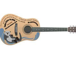 #26 для On Face of a Guitar is the Artist от Moshiur0101