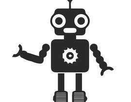 #37 for Design a simple robot icon (grey lines, 16x16px, 48x48px and 128x128) by Ariful222