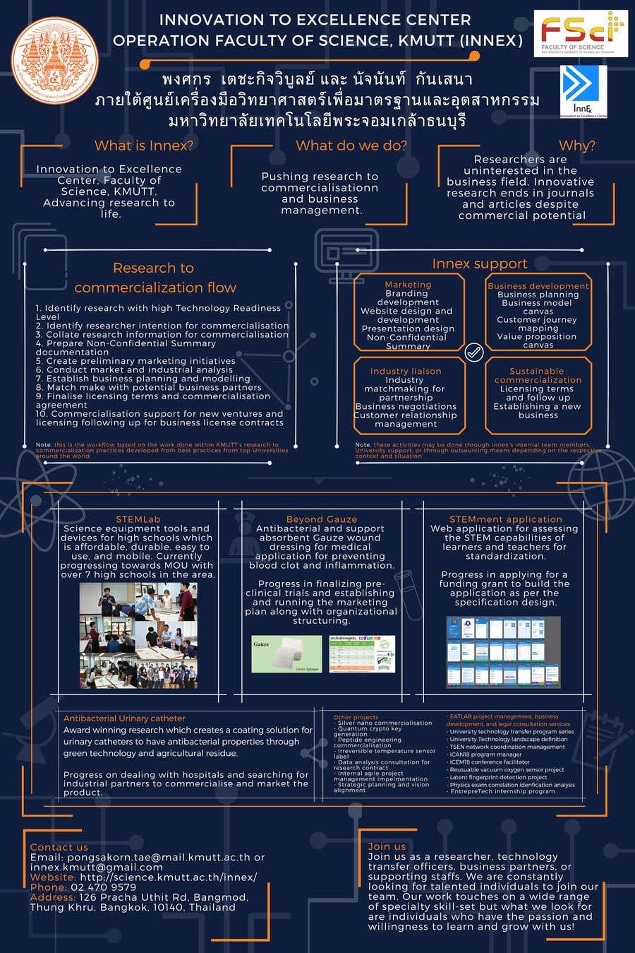 """Intrarea #13 pentru concursul """"Poster design for technology showcase"""""""