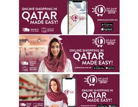 #6 untuk Design of 3 banners for App advertisements campaign oleh ephdesign13