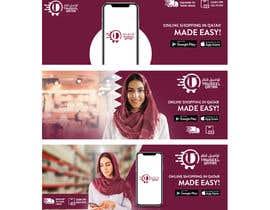 #15 untuk Design of 3 banners for App advertisements campaign oleh ephdesign13