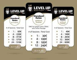 #8 untuk URGENT Create a Pricing graphic for our different package options oleh danieledeplano