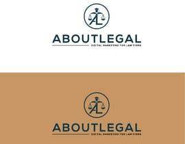"""#147 untuk Logo Design: """"AboutLegal"""" oleh Ranbeerkhan077"""