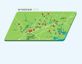 #27 untuk Create stylized map of Wyndham City Council's Public Wifi locations oleh renzberboso
