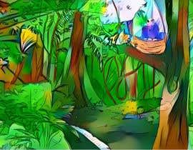 #7 for illustrations for Children's book  (sample page) af Pandred