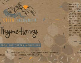 #92 для Design a minimalistic and playful product label for a natural thyme honey jar. от lispector