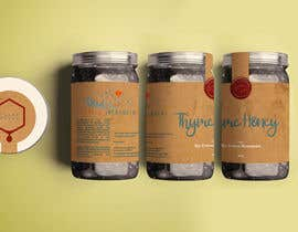 #79 для Design a minimalistic and playful product label for a natural thyme honey jar. от Nathasia00