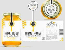 #94 для Design a minimalistic and playful product label for a natural thyme honey jar. от sbihamiri