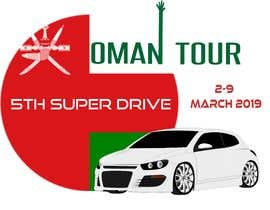 """#8 для Integrate car picture, flag & logo of our club. Poster should say """" OMAN TOUR"""" and """" 5th Super drive 2-9 March 2019 """" the poster should be in artistic look as per attach picture от cynthiamacasaet"""