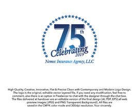 #25 for Revamped Logo Design - Celebrating our 75th Anniversary by ouaamou