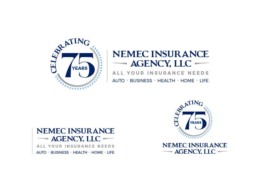 Contest Entry #16 for Revamped Logo Design - Celebrating our 75th Anniversary