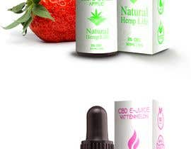 #4 pentru reCreate label for CBD e-juice for health company de către mikelpro
