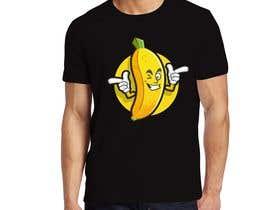 #73 for Realistic banana design to print on tee-shirts by kasupedirisinghe