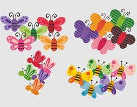 #11 для Graphic Young Girl Kids Flowers/Butterflies/Heart... Five Color max от ConceptGRAPHIC