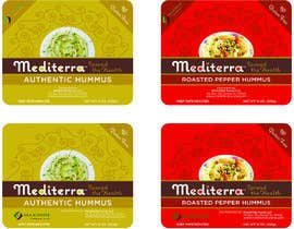 #44 для Hummus Packaging (label design based on existing graphical identity) от rkdesi