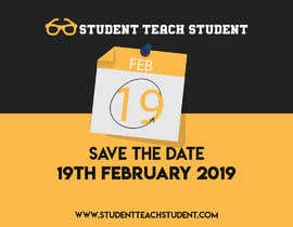 "#8 для Create ""Save The Date"" Instagram Content Posts for www.StudentTeachSudent.com Go-live от tuhins70"
