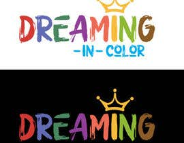 #90 для Create a Logo for Dreaming in Color от khaldiyahya