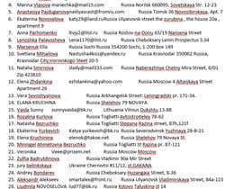 #6 untuk Russian Dating Databases or Emails oleh Zarminairshad