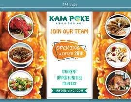 #25 for Design a banner for a restaurant opening af Fantasygraph