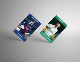 #61 для Design trading cards concept for a sport от alokbd001