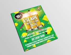 #14 для Design A5 Flyer Front - Escape1 от Sabbir8382