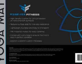 Nro 8 kilpailuun product label design for a yoga mat käyttäjältä vw7613939vw