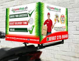 #30 untuk Design for a delivery box needed oleh realflexographic