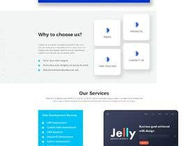 #5 for mockup re-design for current IT site in build by Rakeshbarban5858