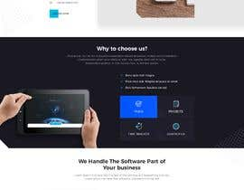 #8 for mockup re-design for current IT site in build by Rakeshbarban5858